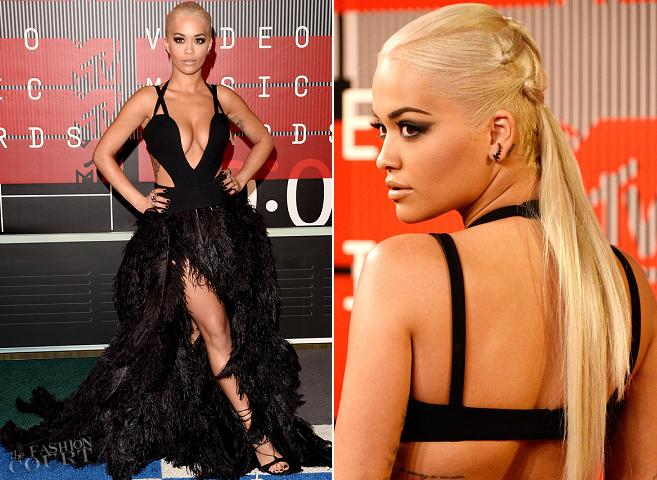Rita Ora in Vera Wang | MTV VMAs 2015