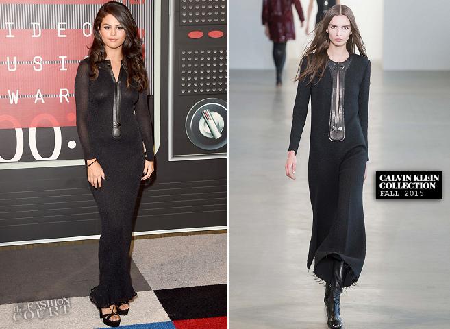 Selena Gomez in Calvin Klein | MTV VMAs 2015