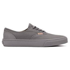 Vans Era Decon CA Mono Leather Sneakers in Frost Grey