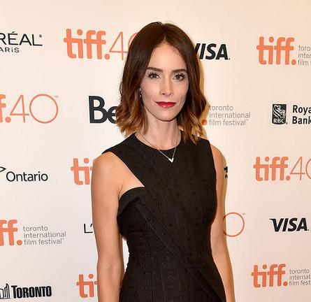 Abigail Spencer in Stella McCartney | 'Anomalisa' Photocall - 2015 Toronto International Film Festival
