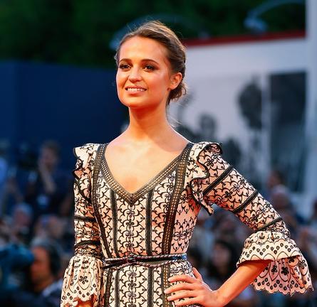 Alicia Vikander in Louis Vuitton | 'The Danish Girl' Premiere - 2015 Venice Film Festival