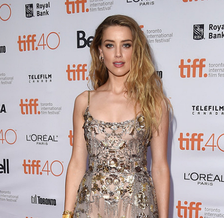 Amber Heard in Elie Saab Couture | 'The Danish Girl' Premiere - 2015 Toronto International Film Festival