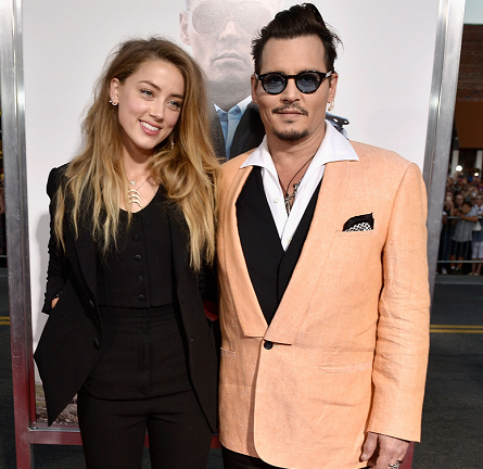 Amber Heard in Dolce & Gabbana | 'Black Mass' Boston Premiere