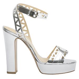 Bionda Castana 'Zoe' Laser Cut Platform Sandal