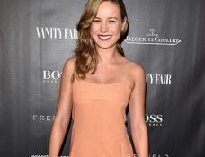 Brie Larson in Wes Gordon | Vanity Fair Toast Of 'Freeheld' - 2015 Toronto International Film Festival
