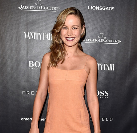 Brie Larson in Wes Gordon | Vanity Fair Toast Of 'Freeheld' - 2015 Toronto International Film Festival