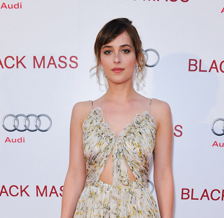 Dakota Johnson in Alexander McQueen | 'Black Mass' Premiere - 2015 Toronto International Film Festival
