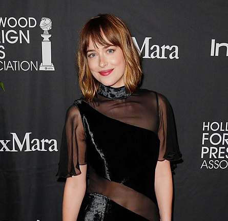 Dakota Johnson in Christopher Kane | InStyle & HFPA Party - 2015 Toronto International Film Festival