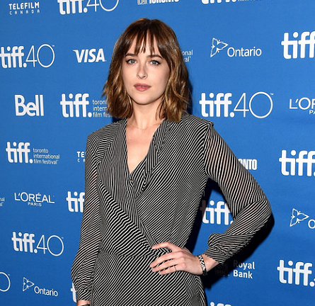 Dakota Johnson in Saint Laurent | 'Black Mass' Photocall - 2015 Toronto International Film Festival