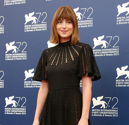 Dakota Johnson in Valentino | 'Black Mass' Photocall - 2015 Venice Film Festival