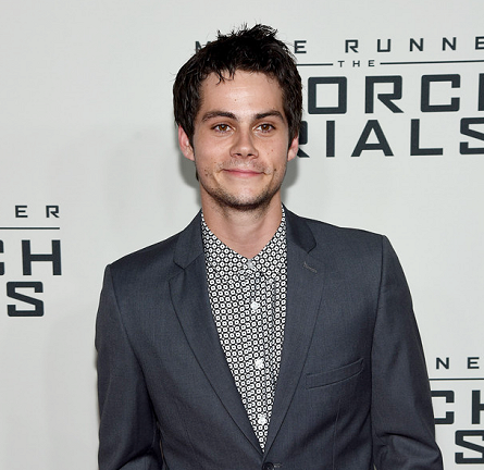 Dylan O'Brien in TOPMAN | 'The Maze Runner: The Scorch Trials' NYC Premiere