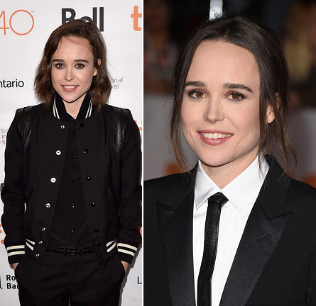 Ellen Page in Saint Laurent | 'Into the Forest' & 'Freeheld' Premieres - 2015 Toronto International Film Festival