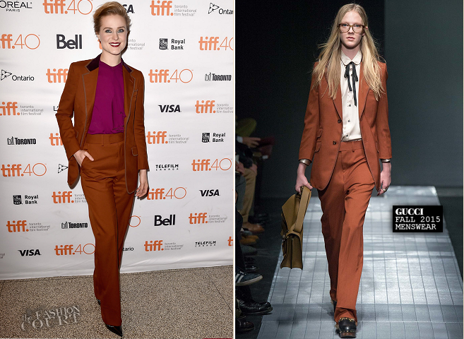 Evan Rachel Wood in Gucci | 'Into the Forest' Premiere - 2015 Toronto International Film Festival