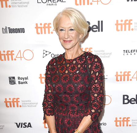 Helen Mirren in Dolce & Gabbana | 'Trumbo' Premiere - 2015 Toronto International Film Festival