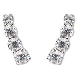 Jack Vartanian Diamond Ear Climbers