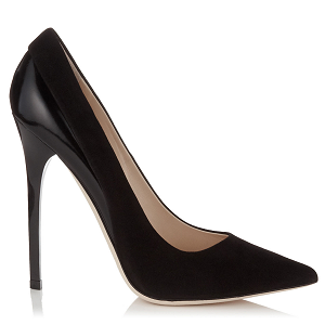 Jimmy Choo 'Kayomi' Suede and Leather Pumps