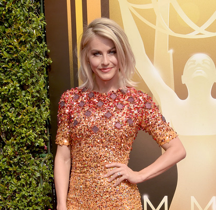 Julianne Hough in Jenny Packham | 2015 Creative Arts Emmy Awards