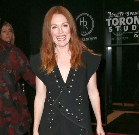 Julianne Moore in Proenza Schouler | 2015 Toronto International Film Festival