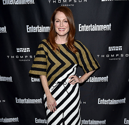 Julianne Moore in Sonia Rykiel | EW's Must List Party - 2015 Toronto International Film Festival