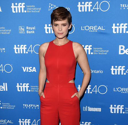 Kate Mara in A.L.C. | 'The Martian' Photocall - 2015 Toronto International Film Festival