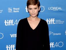 Kate Mara in Madewell | 'Man Down' Photocall - 2015 Toronto International Film Festival