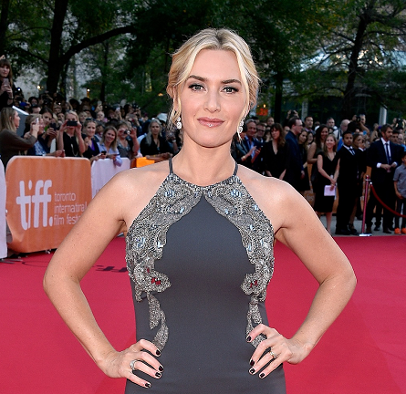 Kate Winslet in Badgley Mischka | 'The Dressmaker' Premiere - 2015 Toronto International Film Festival