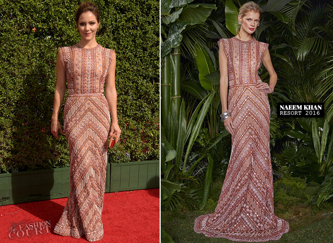 Katharine McPhee in Naeem Khan | 2015 Creative Arts Emmy Awards