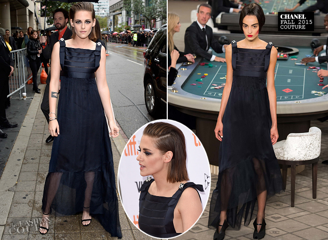 Kristen Stewart in Chanel Couture | 'Equals' Premiere - 2015 Toronto International Film Festival