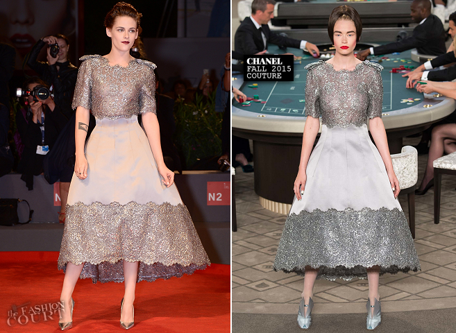 Kristen Stewart in Chanel Couture | 'Equals' Premiere - 2015 Venice Film Festival