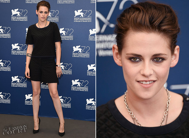 Kristen Stewart in Chanel | 'Equals' Photocall - 2015 Venice Film Festival
