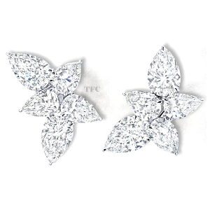Martin Katz Fine Jewelry Diamond Earrings
