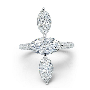 Martin Katz Fine Jewelry Diamond Tier Ring
