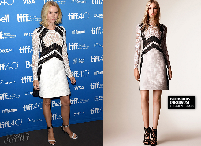 Naomi Watts in Burberry Prorsum | 'Demolition' Photocall - 2015 Toronto International Film Festival