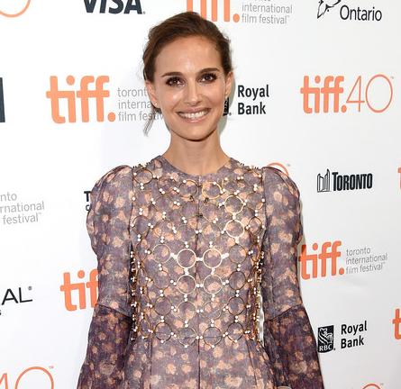 Natalie Portman in Dior Couture | 2015 TIFF Kick-Off Fundraising Soirée