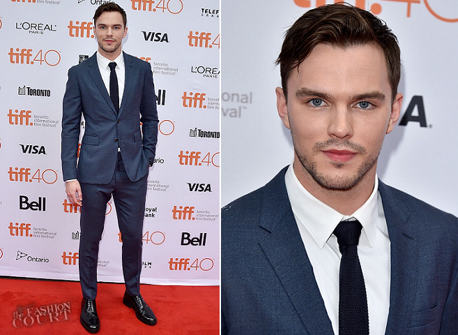 Nicholas Hoult in Burberry | 'Equals' Premiere - 2015 Toronto International Film Festival