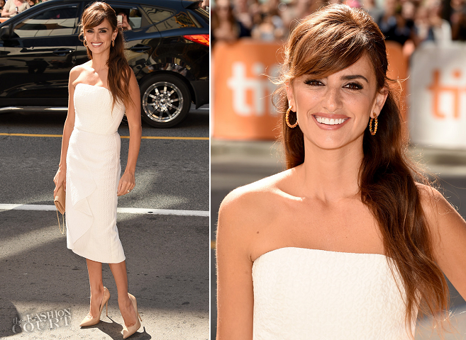 Penelope Cruz in Roland Mouret | 'Ma Ma' Premiere - 2015 Toronto International Film Festival