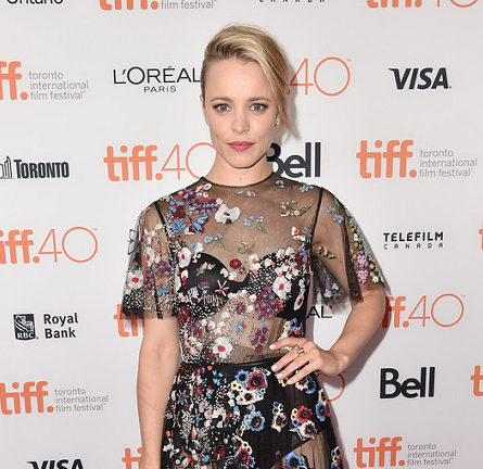 Rachel McAdams in Valentino   'Spotlight' Premiere - 2015 Toronto International Film Festival