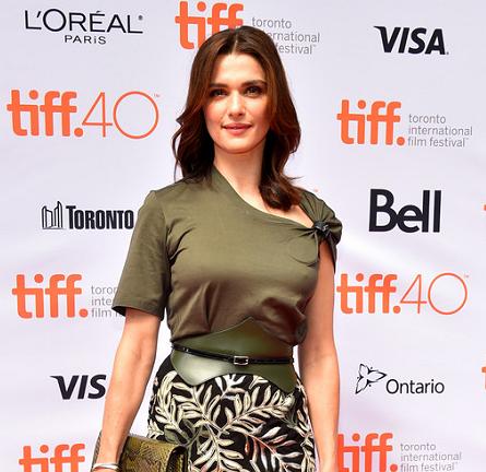 Rachel Weisz in Louis Vuitton | 'The Lobster' Premiere - 2015 Toronto International Film Festival