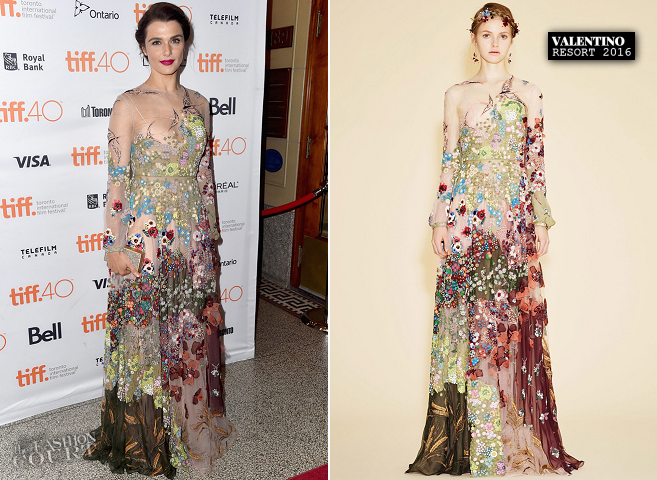 Rachel Weisz in Valentino | 'Youth' Premiere - 2015 Toronto International Film Festival