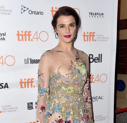 Rachel Weisz in Valentino   'Youth' Premiere - 2015 Toronto International Film Festival