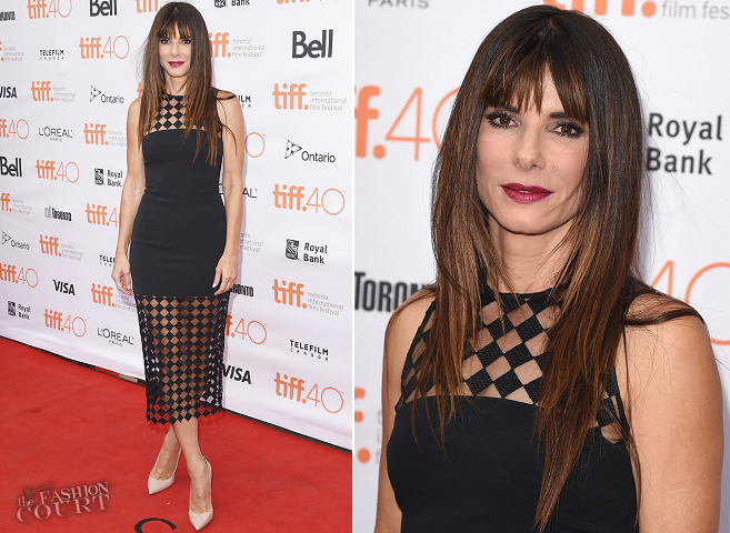 Sandra Bullock in David Koma | 'Our Brand Is Crisis' Premiere - 2015 Toronto International Film Festival