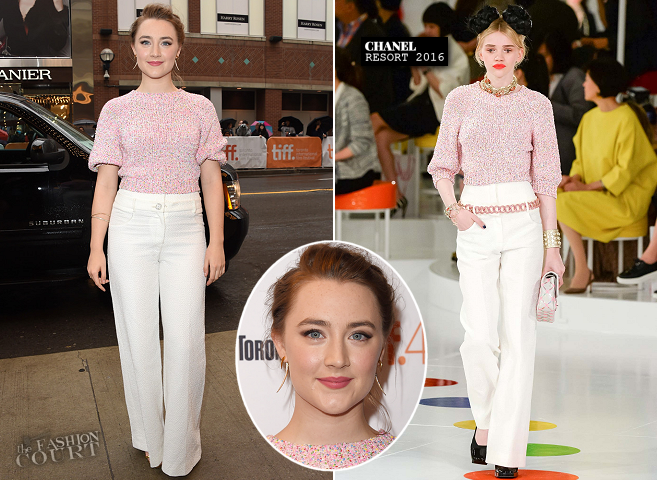 Saoirse Ronan in Chanel | 'Brooklyn' Premiere - 2015 Toronto International Film Festival