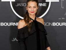 Alicia Vikander in Proenza Schouler | 'Jason Bourne' Madrid Photocall