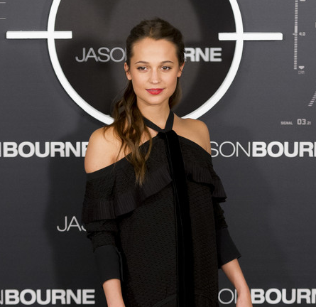Alicia Vikander in Proenza Schouler | 'Jason Bourne' Madrid Photocall