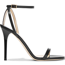 Jimmy Choo 'Minny' Sandals in Black