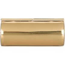 Jimmy Choo 'Trinket' Clutch in Metallic Leather