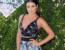 Lea Michele in Self-Portrait | 2016 Teen Choice Awards