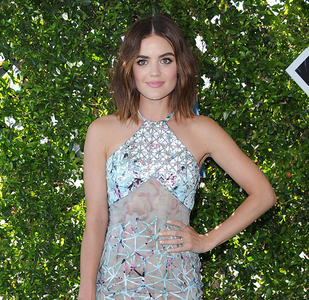 Lucy Hale in Azzaro Couture | 2016 Teen Choice Awards