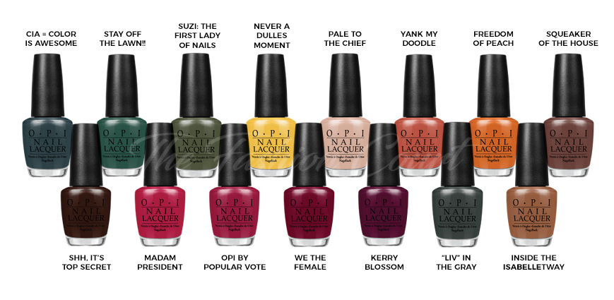 Review: OPI \'Washington D.C.\' Fall/Winter 2016 Collection – The ...