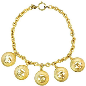 Chanel Vintage Medallion Choker Necklace